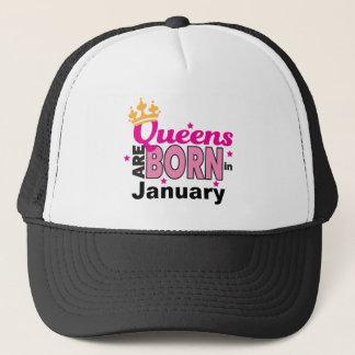 Queens Are Born In Trucker Hat