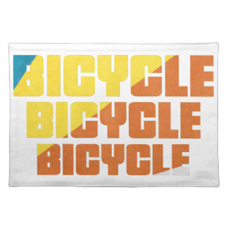 Queen's Bicycle Race Placemat