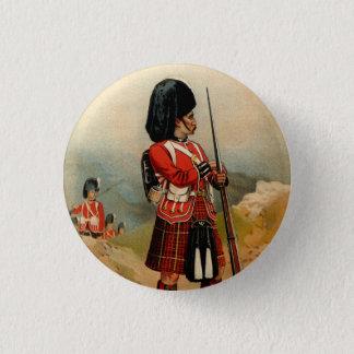 Queens Cameroon Highlanders 3 Cm Round Badge