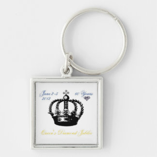 Queens Diamond Jubilee 2012 Keychain