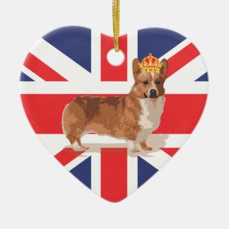 Queen's Diamond Jubilee Corgi ornament