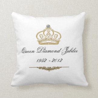 Queens Diamond Jubilee Throw Pillow Cushions