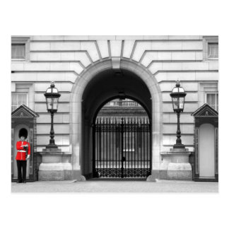 Queen's Guard Keeping Watch Postcard