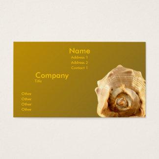 Queens Helmet Business Card