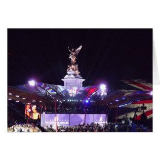 Queen's Jubilee Concert, London Card