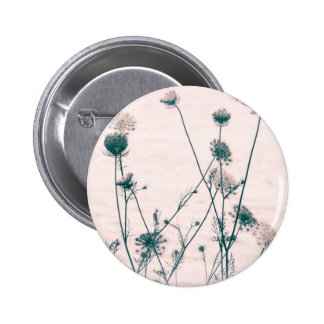Queen's Lace Flowers 6 Cm Round Badge
