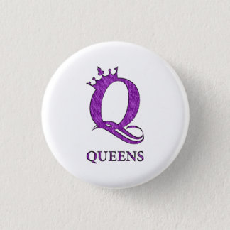 Queens New York Button