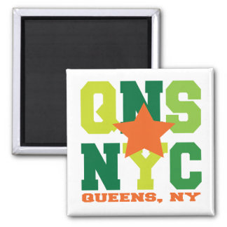 Queens, NY Green Magnet