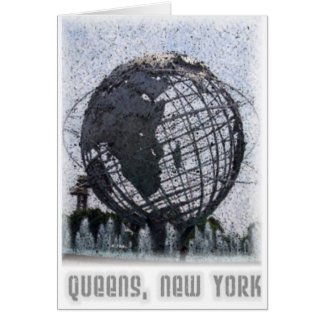 Queens, NY Greeting Card