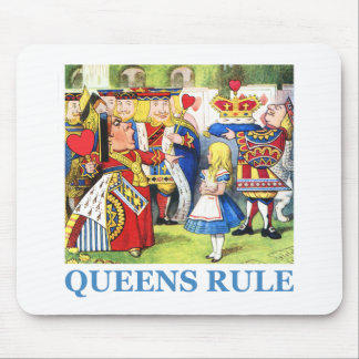 Queens Rule Mouse Pad