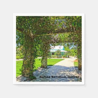 Queen's Wreath Naples Botanical Garden, Florida Disposable Serviette