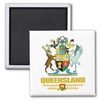 Queensland COA Square Magnet
