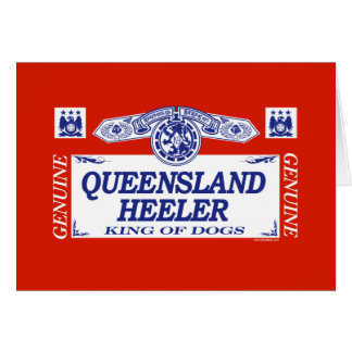 Queensland Heeler Greeting Cards