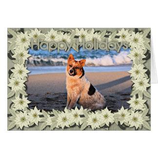 Queensland Red Heeler - Lucy Card