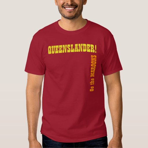 Queensland Supporters Gear - State of Origin Tshirt