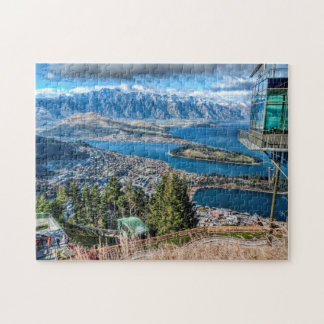 Queenstown, New Zealand Jigsaw Puzzle