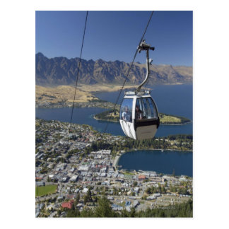 Queenstown, New Zealand Postcard