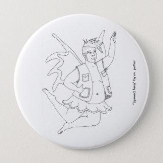 (queer) fairy button