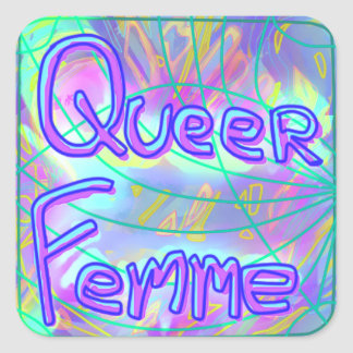 Queer Femme Sticker