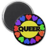 Queer Gay pride Refrigerator Magnet