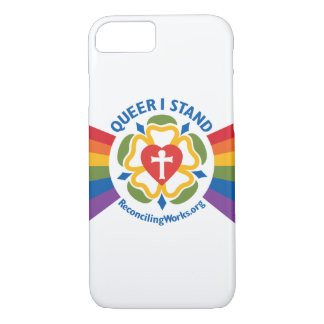 """Queer I Stand"" t-shirt phone case"