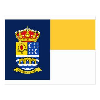 Quéntar (Spain) Flag Postcard