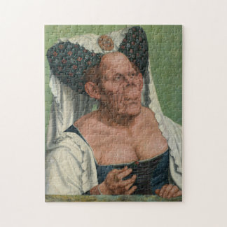 Quentin Massys, The Ugly Duchess, ca 1525 Jigsaw Puzzles