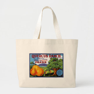 Quercus Ranch Pears Jumbo Tote Bag