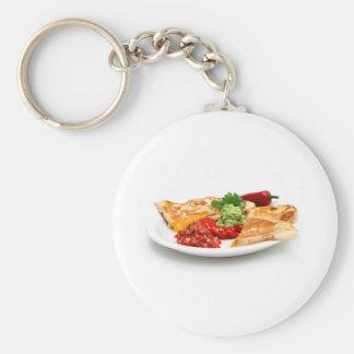 Quesadilla Key Ring