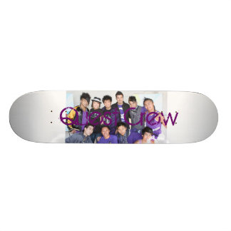 Quest Crew 21.3 Cm Mini Skateboard Deck