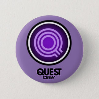 QUEST DANCE CREW 6 CM ROUND BADGE