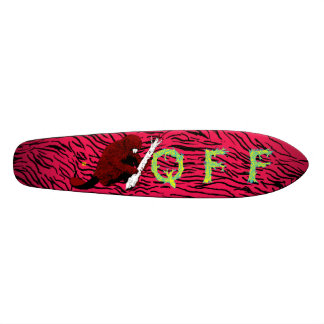 Quest For Fire Old School Beaver 18.1 Cm Old School Skateboard Deck