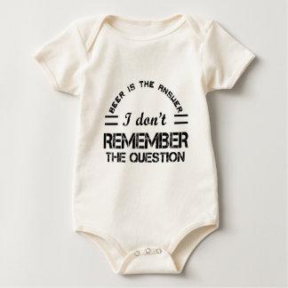 Question design cute baby bodysuit