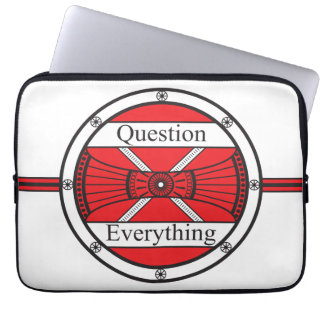 Question Everything Laptop Computer Sleeves