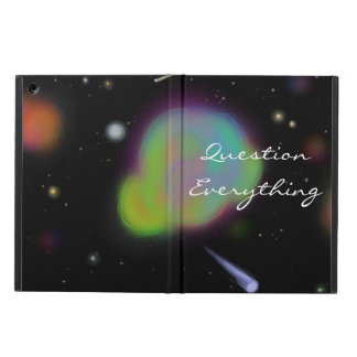 """""""Question Everything"""" Space iPad Cover"""