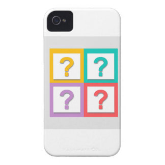 Question Image Fash Case-Mate iPhone 4 Case