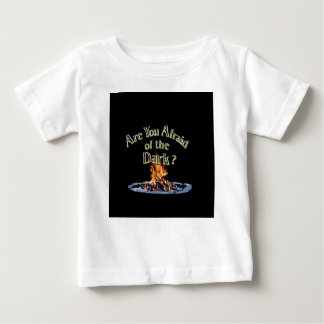 Question is Are You Afraid of the Dark Baby T-Shirt