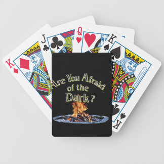 Question is Are You Afraid of the Dark Bicycle Playing Cards