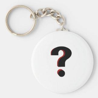 Question Keychain