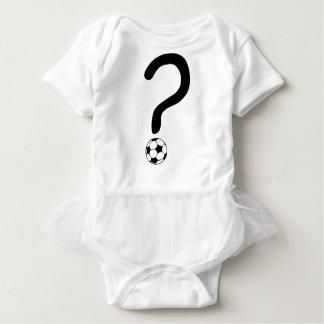 question mark3 baby bodysuit