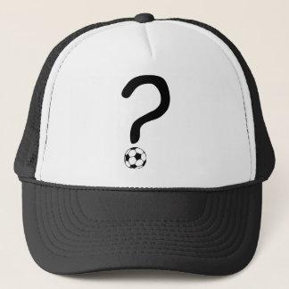 question mark3 trucker hat