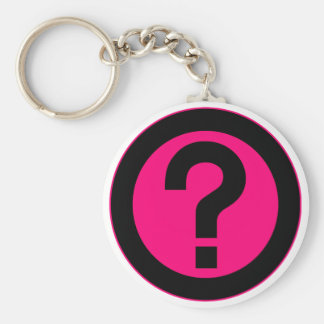 Question Mark Ask Query Symbol Punctuation Key Chains