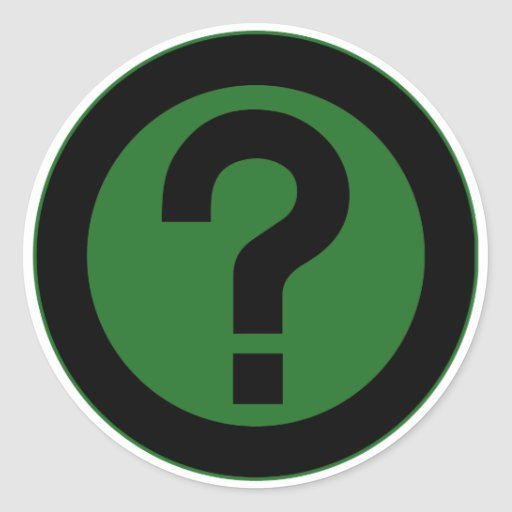 Question Mark Ask Query Symbol Punctuation Stickers