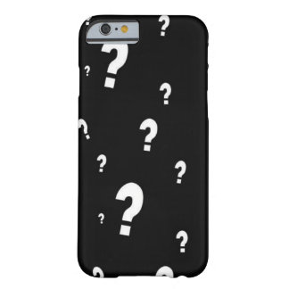 Question Mark Barely There iPhone 6 Case