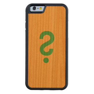 Question mark cherry iPhone 6 bumper