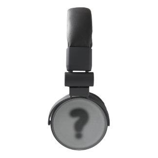 question mark headphones