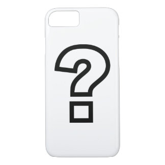 Question mark iPhone 7 case