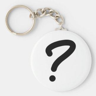 Question Mark Keychains
