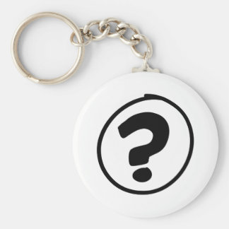 Question Mark Sign Keychains