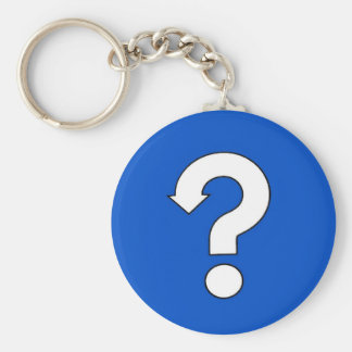 question mark sign key chains